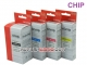 Set of 4 inks HP711 for HP