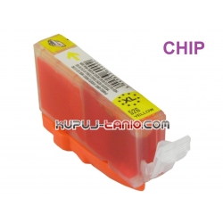 tusz CLI-526Y do Canon (z chipem, Crystal-Ink) tusz do Canon MG5350, MG5250, MG5150, iP4850, iP4950, MG6150, MG6250